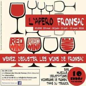 Rendez-vous à L'Apéro Fronsac !