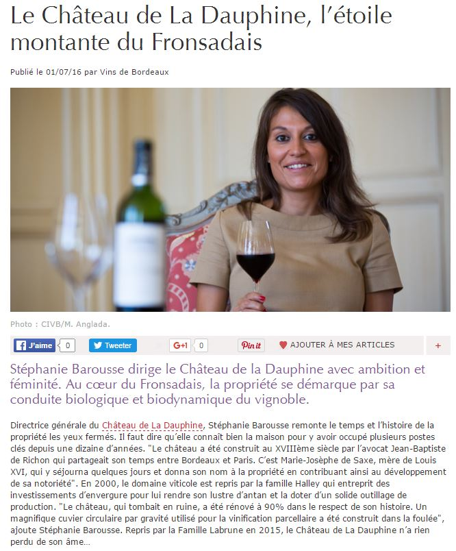 Article Figaro